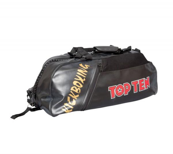 TOP TEN Sporttasche Kickboxing Schwarz