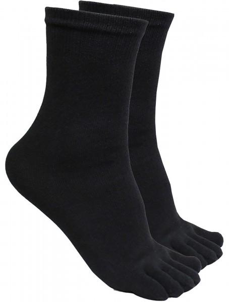 Schwarze Ninja Tabi Socken / Zehensocken von KWON