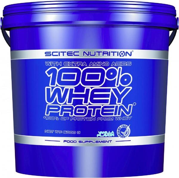 Scitec Nutrition 100% Whey Protein, 5000 g Eimer