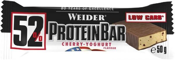 Joe Weider 52% Protein Bar, 24 x 50 g Riegel