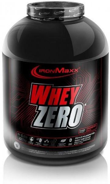 IronMaxx Whey Zero, 2270 g Dose