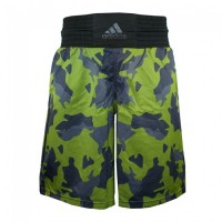 ADIDAS Shorts Multiboxing Short camo green/black