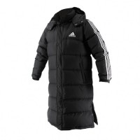 ADIDAS Langer Parka Long Parka black/white
