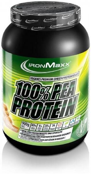 IronMaxx Pea Protein, 900 g Dose, Erbsenprotein
