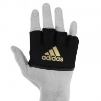 ADIDAS Handschuh Fingerknöchelschutz Knuckle Sleeve black/gold