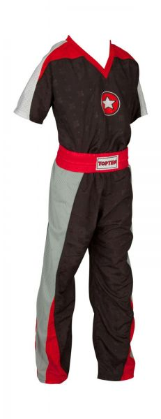 TOP TEN Kickbox Anzug Star Black 1