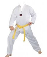 WACOKU Taekwondo Anzug für Kinder Ribbed Standard