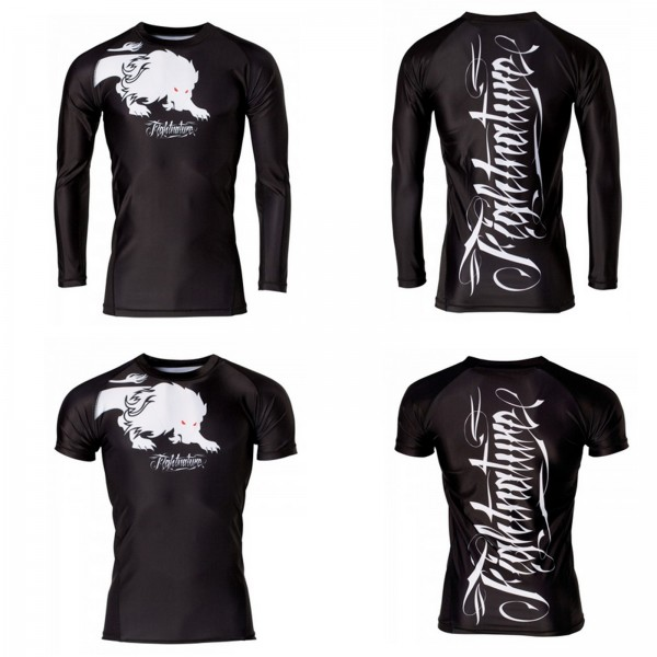 Fightnature Rash Guard Shirt Kurz- oder Langarm