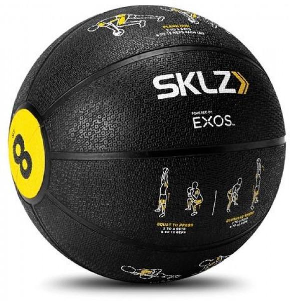 SKLZ Trainer Med Ball, Medizinball (Gewicht: 3,6 kg)