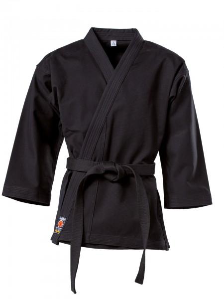 Schwarze KWON Karatejacke Traditional 8 oz