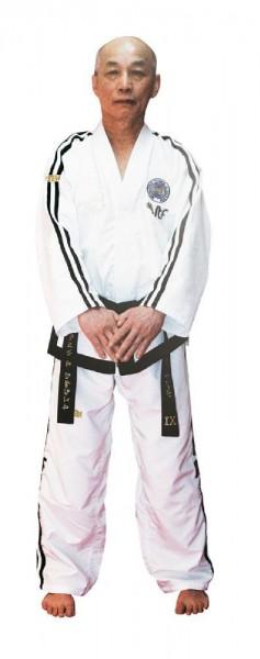 TOP TEN Taekwondo Grandmaster Dobok Premium Gold (ITF)