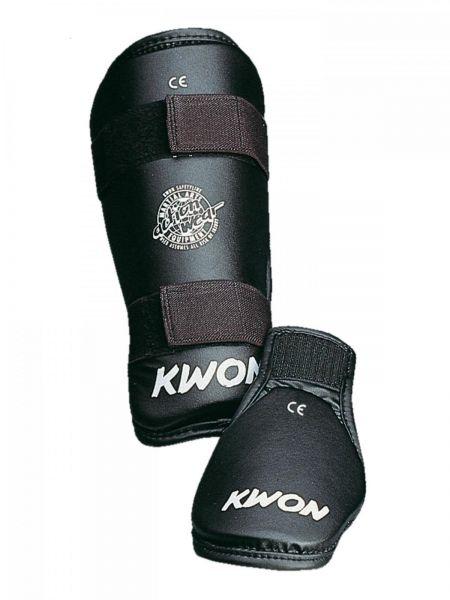 KWON Schienbeinschoner mit Spannschutz Select