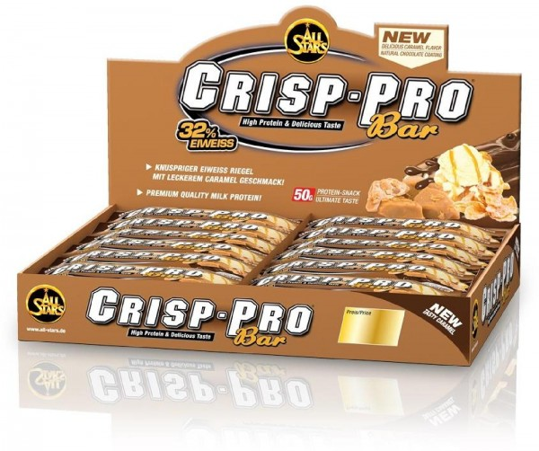 All Stars Crisp-Pro Bar, 24 x 50 g Riegel