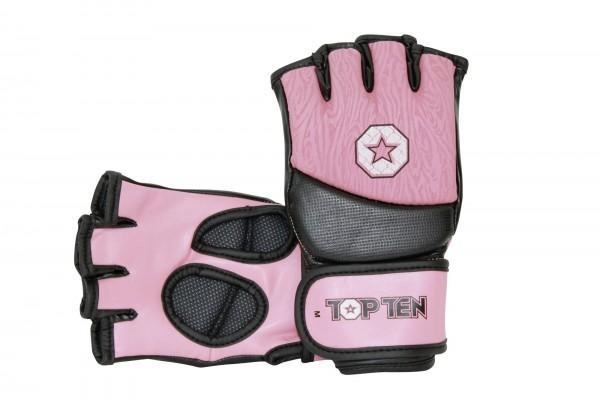 TOP TEN MMA Ultimate-Fight-Handschuhe Girls für Frauen - rosa