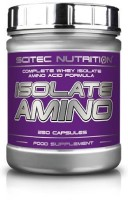 Scitec Nutrition Isolate Amino, 250 Kapseln Dose
