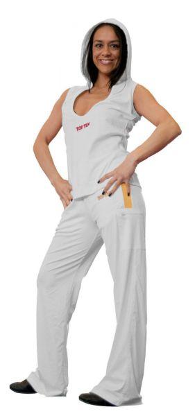 Fitnesshose Women von Top Ten in weiß