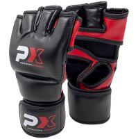Phoenix Protech MMA Handschutz, Schwarz, Pu