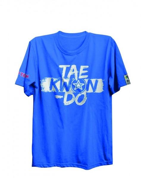 T-Shirt ITF TKD von Top Ten in blau