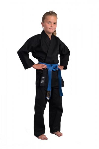 PHOENIX Karate-Anzug schwarz STANDARD EDITION KINDER