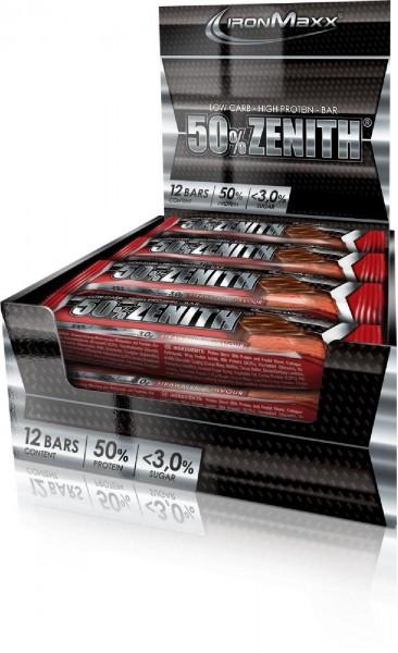 IronMaxx 50% Zenith Proteinriegel, 12 x 100 g