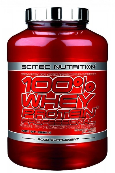 Scitec Nutrition 100% Whey Protein Professional, 2350 g Dose