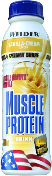 Joe Weider Muscle Protein Drink, 6 x 500 ml
