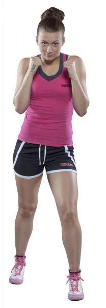 Fitness-Shorts Women von Top Ten in Schwarz