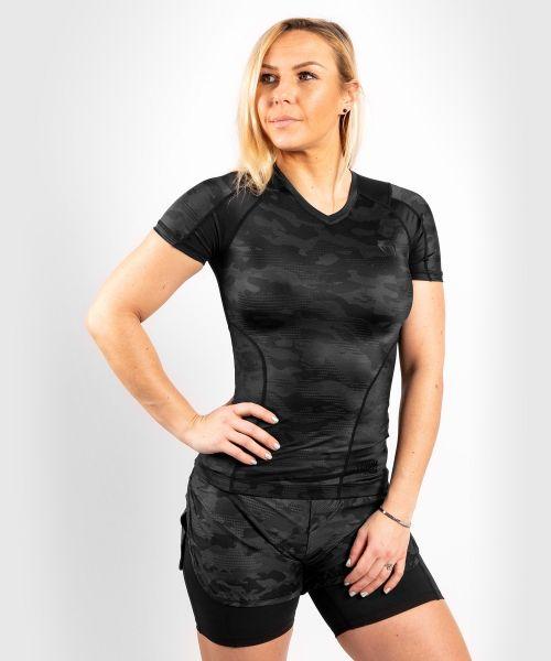 VENUM Women Defender Rashguard Short Sleeves - Schwarz