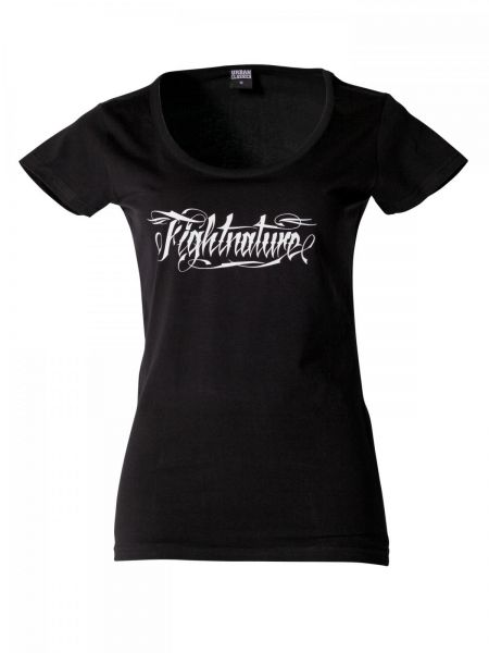 Damen T-Shirt Fightnature Front