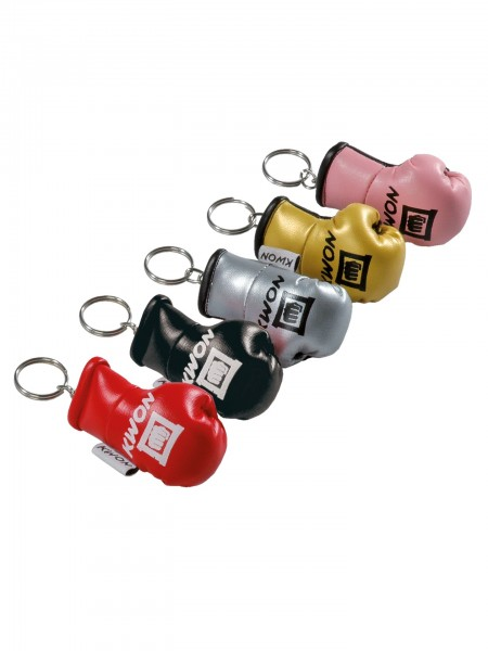 Farbige KWON Mini Boxhandschuhe als Schlüsselanhänger