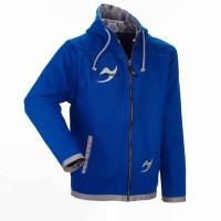 Ju-Sports Street-Gi Hodded Zip Jacket blue