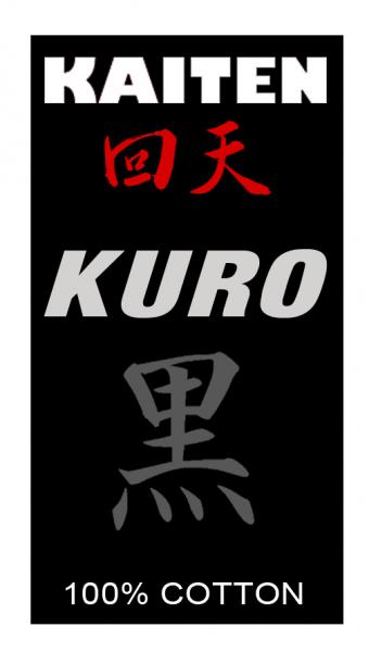 KAITEN Karateanzug Kuro