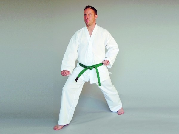 Phoenix Taekwondo Dobok Kyongi I mit Taekwondo Bestickung