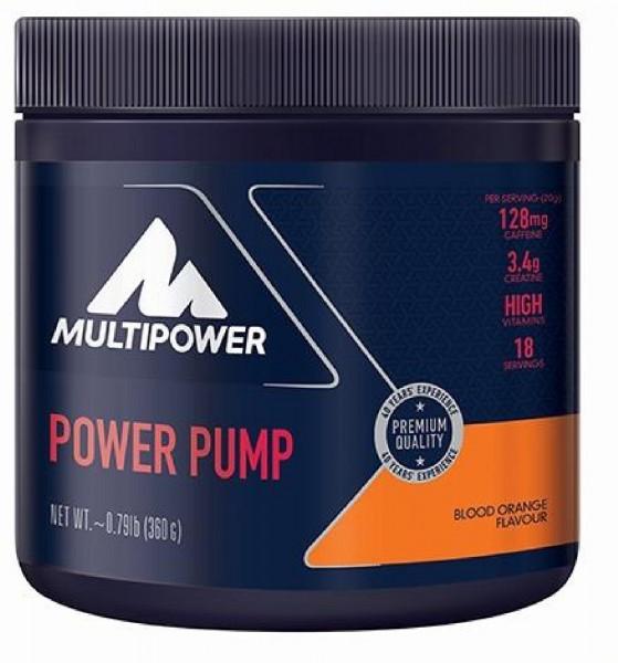 Multipower Power Pump, 360 g Dose