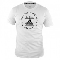 ADIDAS Community T-Shirt Kickboxing White/Black