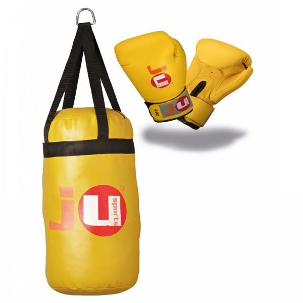Ju-Sports Boxing Set für Kinder gelb