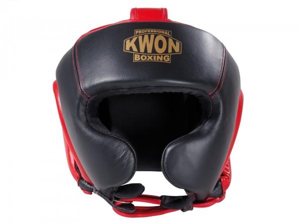 KWON Echtleder Kopfschutz CE