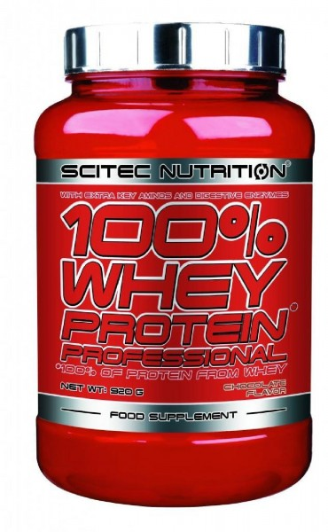 Scitec Nutrition 100% Whey Protein Professional, 920 g Dose
