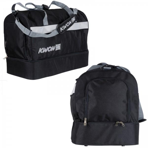 Kwon Sporttasche Kompakt mit Bodenfach