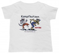 TOP TEN Kinder T-Shirt KAMPFKATZEN
