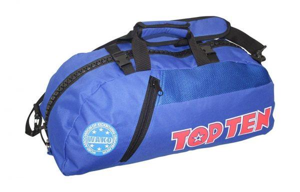 TOP TEN Rucksack - Tasche blau  WAKO