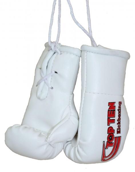 TOP TEN Mini-Boxhandschuhe TOP TEN Kickboxing weiss