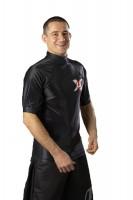 Ju-Sports Rash Guard kurzarm Under-Gi schwarz