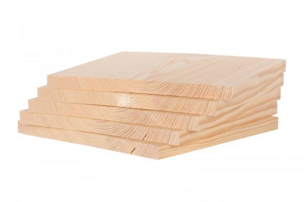 KWON Bruchtestbretter Holz 5er Pack (4 Stärken)