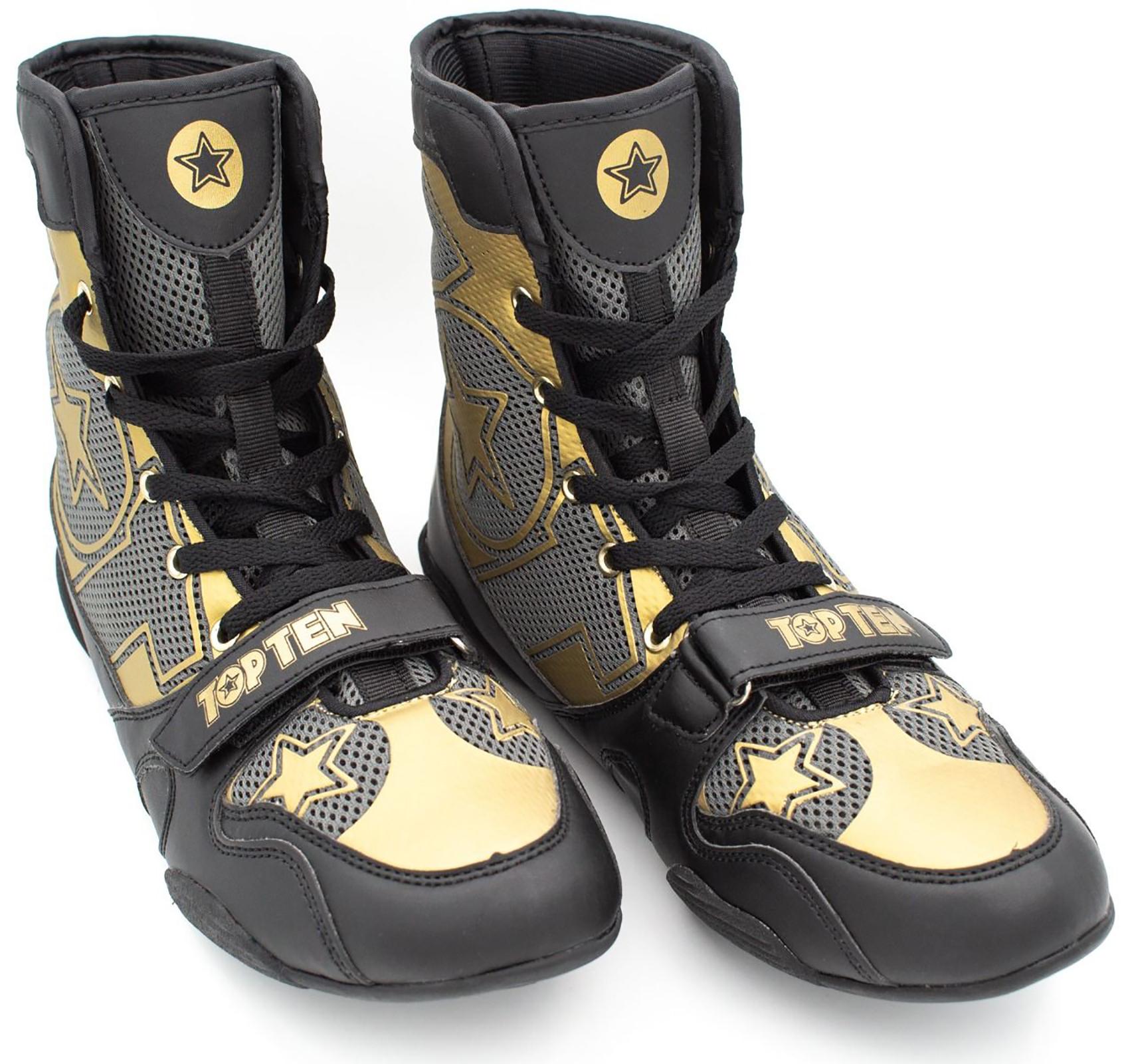BOOSTER Box MMA Schuhe schwarz Box Schuhe (39):