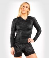 VENUM Women Defender Rashguard - Long Sleeves - Schwarz