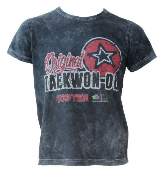 T-Shirt Original Taekwon-Do Retrolook von Top Ten