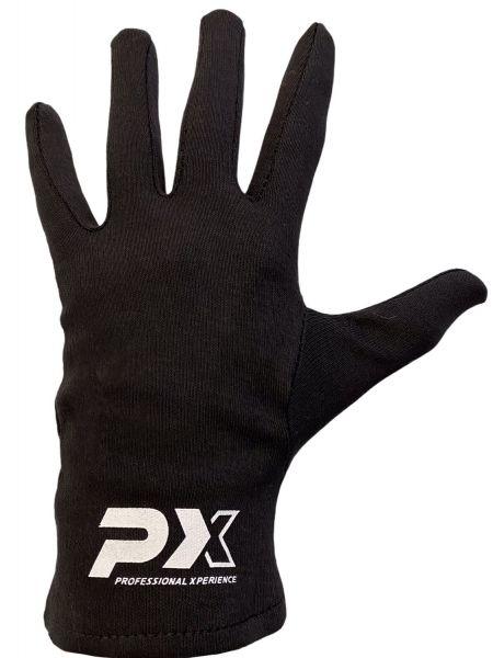 Phoenix Box-Innenhandschuhe mit Fingern, schwarz