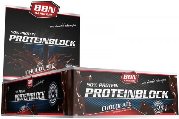 Best Body Nutrition Hardcore Protein Block, 15 x 90 g Riegel