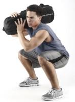 SKLZ Super Sandbag mit 4 Gewicht-Bags bis zu 18 kg Füllgewicht